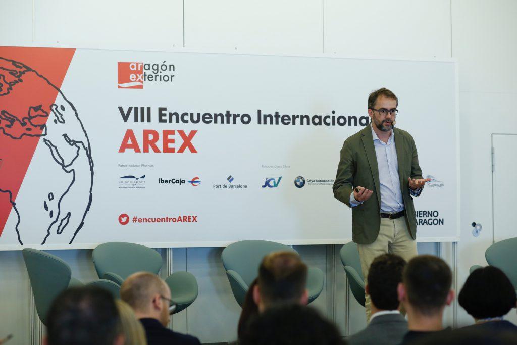 Conrado Castillo, CEO de Rooter, en el VIII Encuentro Arex.