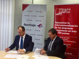 Aragón Exterior e Ibercaja renuevan su compromiso para la organización de los Desayunos Arex Network
