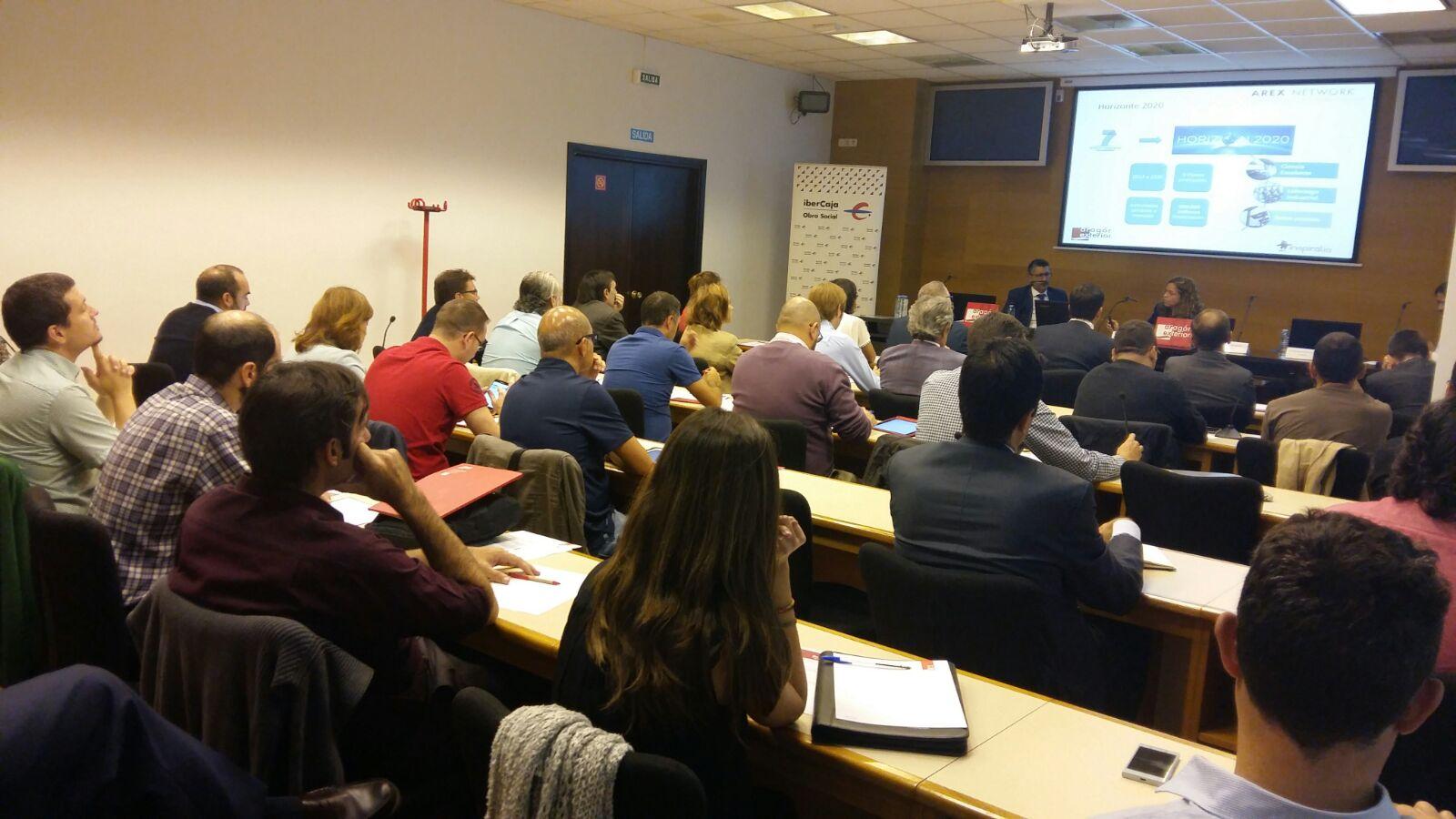 Arex Network celebrado en Zaragoza sobre el Instrumento Pyme
