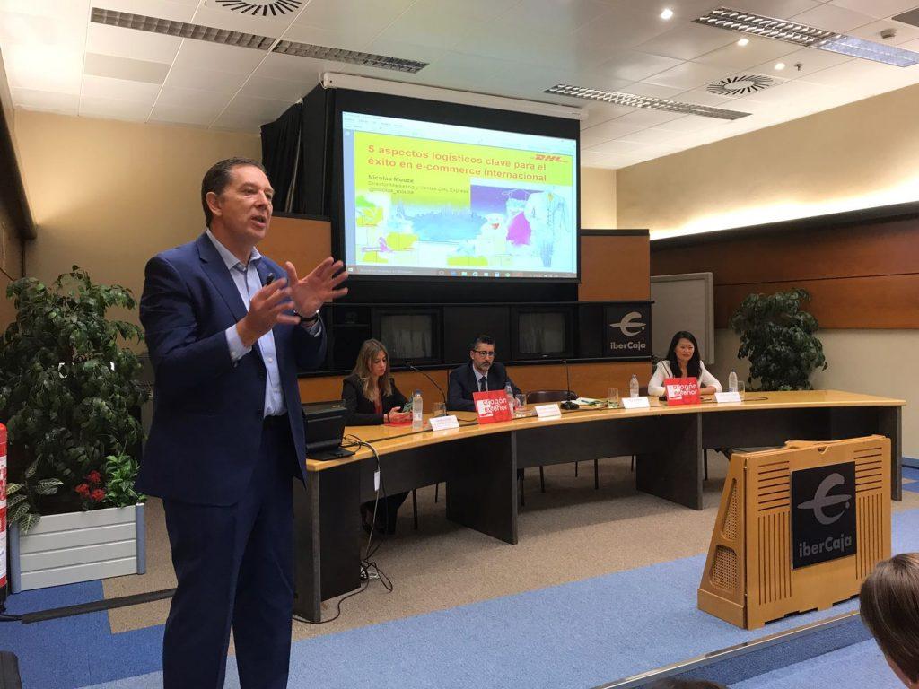 Nicolas Mouze, director de Marketing y Ventas de DHL Express.