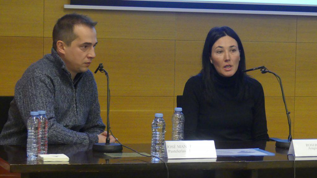 Manuel Segura (Pastelerías Manuel Segura) y Maite Lou (Hijos de José Lou) han explicado su experiencia en el Plan Gourmet Francia.