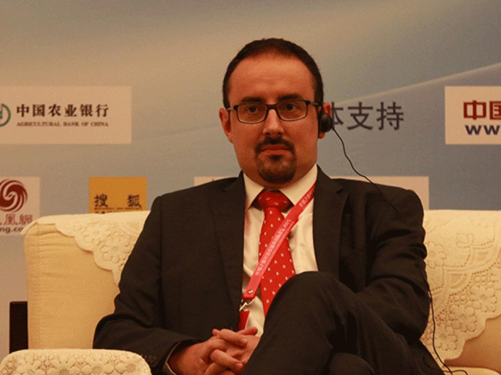 Rafael Llopis, delegado de Aragón Exterior en China.