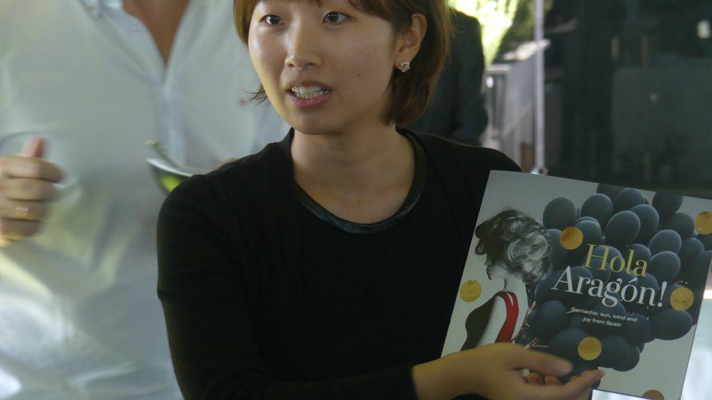 Corea del Sur brinda con vino aragonés