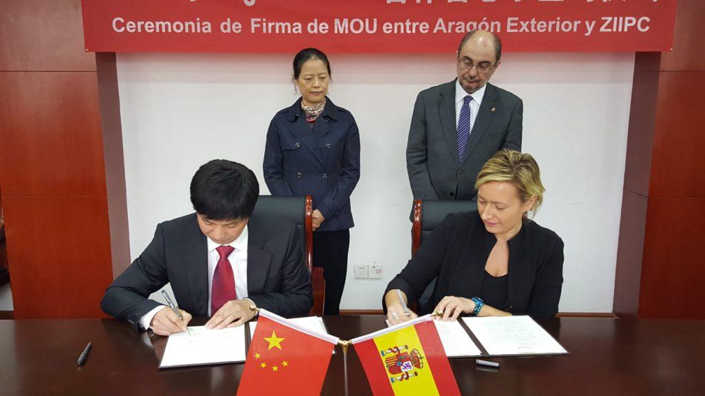 Lambán: «Ver pronto que China va a ser la primera economía del mundo dará ventajas a Aragón»