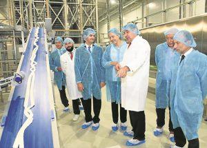 Dr. Schär sigue creciendo en Alagón tras crear 70 empleos en siete años