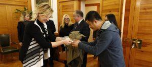 El Gobierno de Aragón afianza su colaboración en logística con el operador chino Cosco