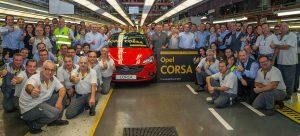 La planta de Figueruelas (Zaragoza) representará más del 50% de la producción de Opel en 2019
