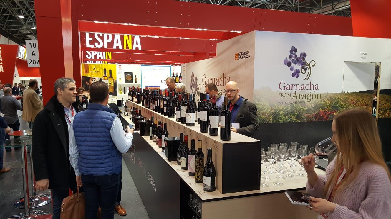 """Los vinos aragoneses """"comparten su secreto"""" en Prowein, la feria del sector más importante del mundo"""