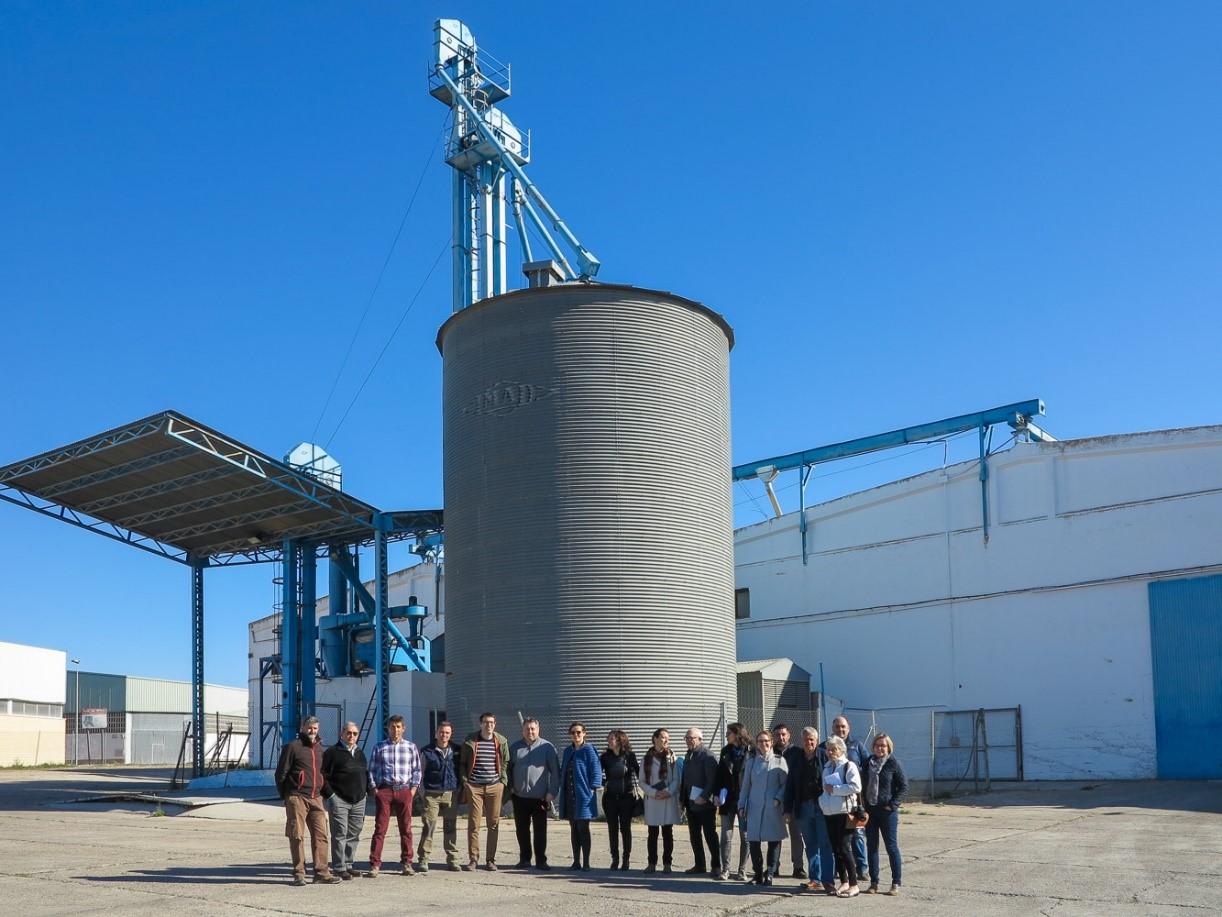 El proyecto ECOCEREAL+ reúne al sector del cereal ecológico en Aragón