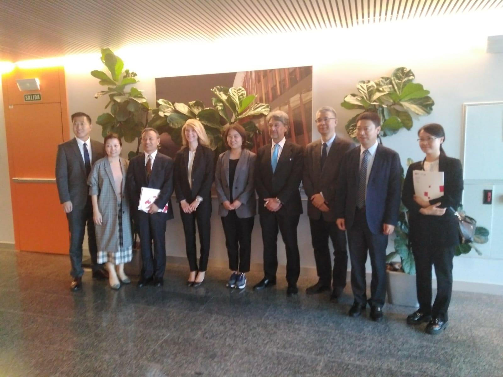 Una delegación china visita Zaragoza para conocer su potencial logístico