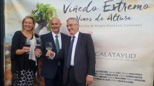 La DOP Calatayud premia a Aragón Exterior por su difusión internacional de los vinos aragoneses