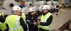 Aragón trabaja con el tejido empresarial en una autorización que amplíe las actividades industriales esenciales de Aragón
