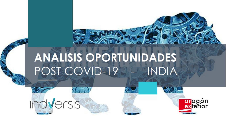 """Webinar AREX Network """"Webinar """"India – Covid 19: situación actual y sectores de oportunidad"""""""