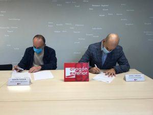 Aragón Exterior firma un acuerdo con BlockchainAragon para fomentar esta tecnología en el comercio exterior