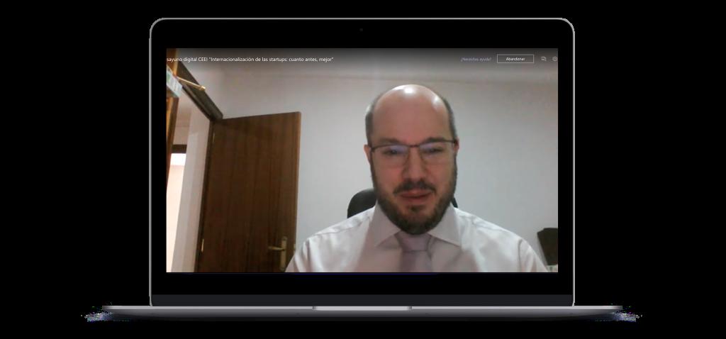 Javier Azaña, project manager de Aragón Exterior
