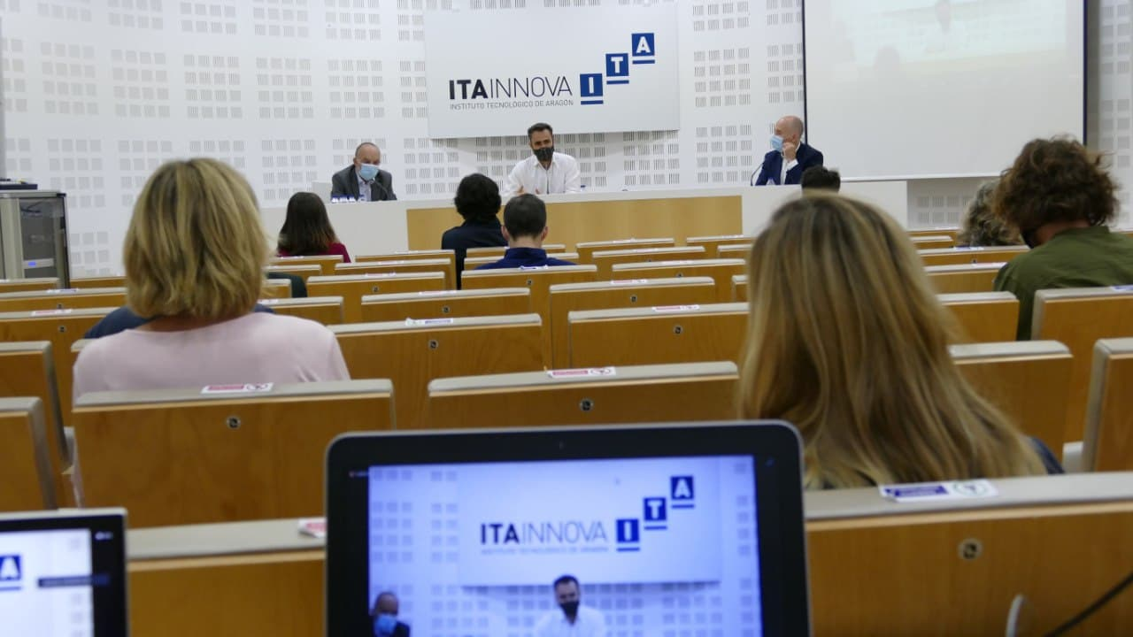 Las empresas aragonesas reciben inspiración de negocio internacional basado en la tecnología